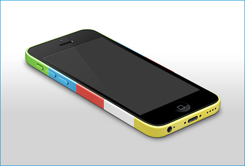 iPhone 5c with color