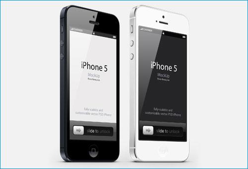 3-4 View iPhone Mockup
