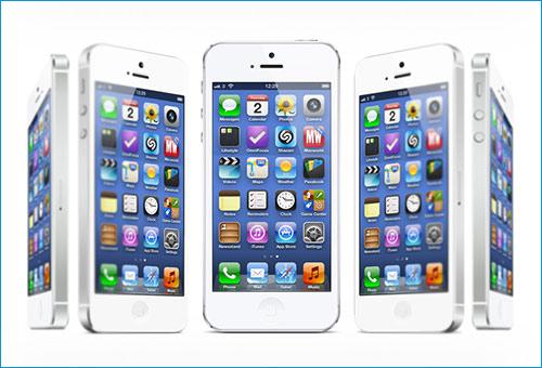iPhone 5 Mockups 20 angles