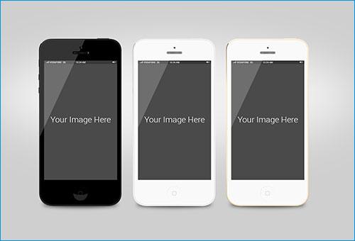 iPhone 3D Mockup