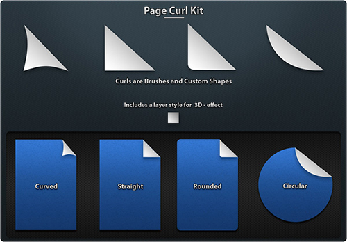 page_curl_Photoshop_brushes