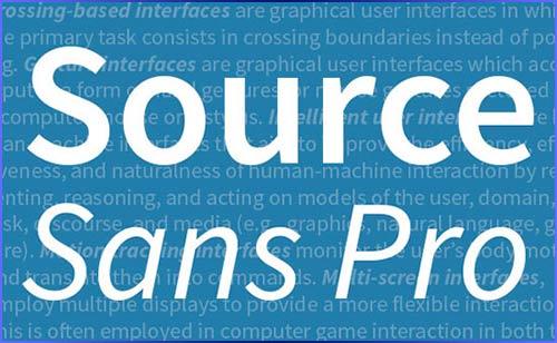 Source Sans Pro Free Font