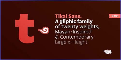 Tikal Sans Free Font