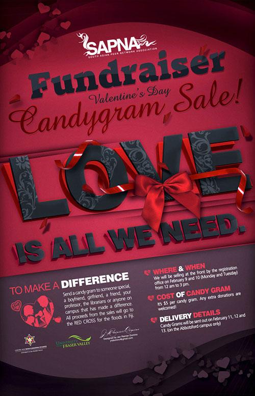 Candy Gram Funraiser Poster