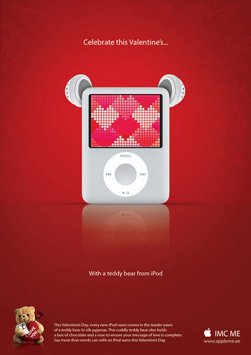 iPod Valentine Day Promotions