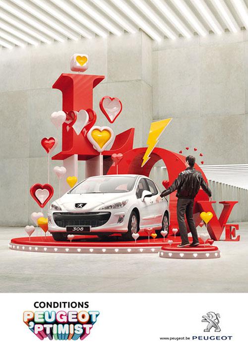 Peugeot Optimist Valentine Campaign