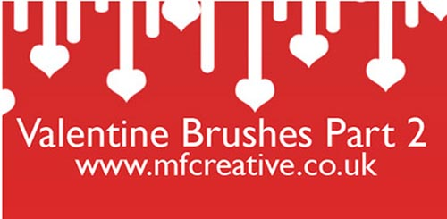 Valentine's Day Free Brushes