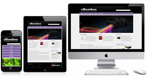 zBamboo responsive template