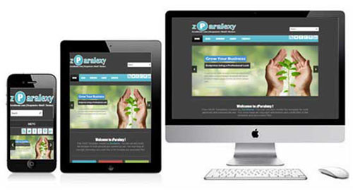 zParalexy responsive template